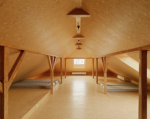 Matratzenlager kinderzimmer  Renovierung eines Wohnhauses in Hanau, Hohe Tanne von Architektur ...