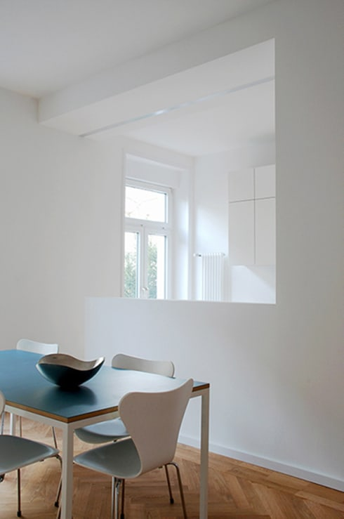 Salle à manger de style  par Architektur Sommerkamp