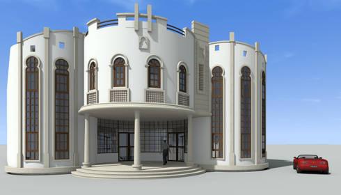 Progetto Residenza Privata: Case in stile in stile Mediterraneo di decor srl