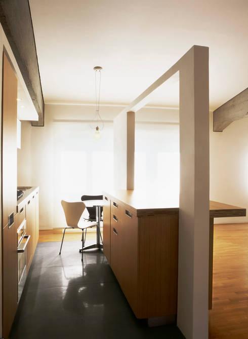 Cocinas de estilo  por melaragni+campagna archimmagine studio