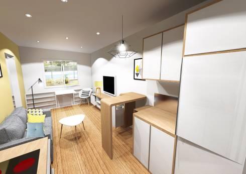 studio par gosni design homify. Black Bedroom Furniture Sets. Home Design Ideas