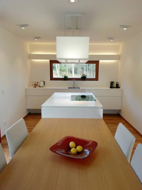 Кухни в . Автор – Architekturbüro HOFFMANN