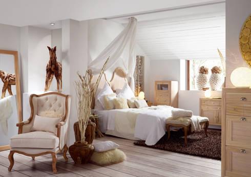 DORMITORIO VINTAGE BROMO II: Dormitorios de estilo colonial de portobellostreet.es