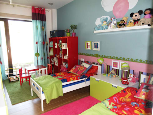 UN HOGAR PARA VIVIR: Habitaciones infantiles de estilo  de Ismael Blázquez | MTDI ARQUITECTURA E INTERIORISMO
