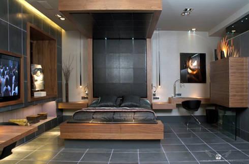 ART SUITE HOTEL: Dormitorios de estilo  de MANUEL TORRES DESIGN