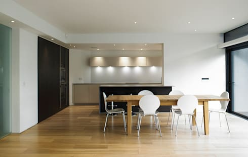 Modern Living: modern Kitchen by The Myers Touch