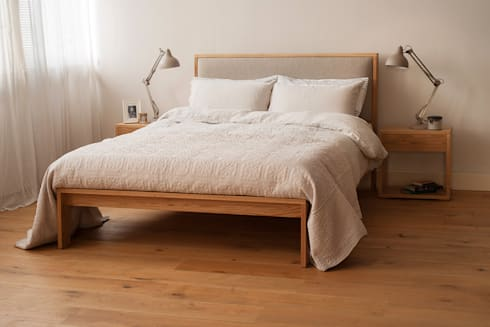 Shetland Bed: modern Bedroom by Natural Bed Company