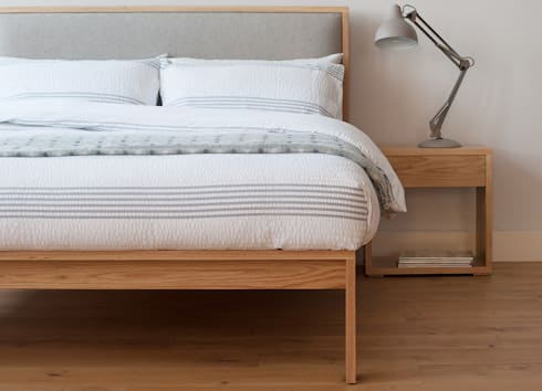 Shetland: modern Bedroom by Natural Bed Company