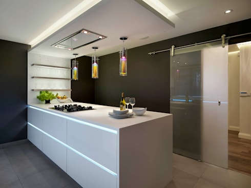 Buckland Crescent:  Kitchen by Living in Space