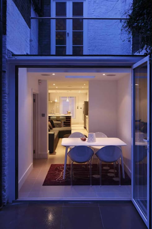 Chalcot Crescent:  Terrace by Living in Space