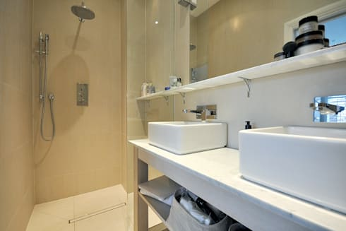 Fulham 1: modern Bathroom by MDSX Contractors Ltd