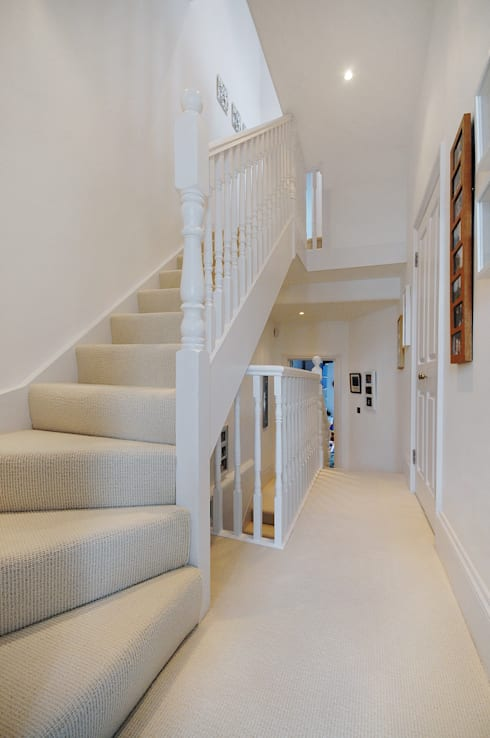 Fulham 2:  Corridor & hallway by MDSX Contractors Ltd