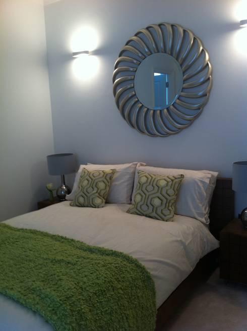 wigmore street london: modern Bedroom by jaimie k designs ltd