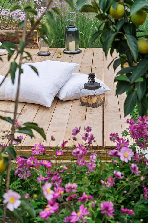 Jardins  por Barbara Negretti  - Garden design -