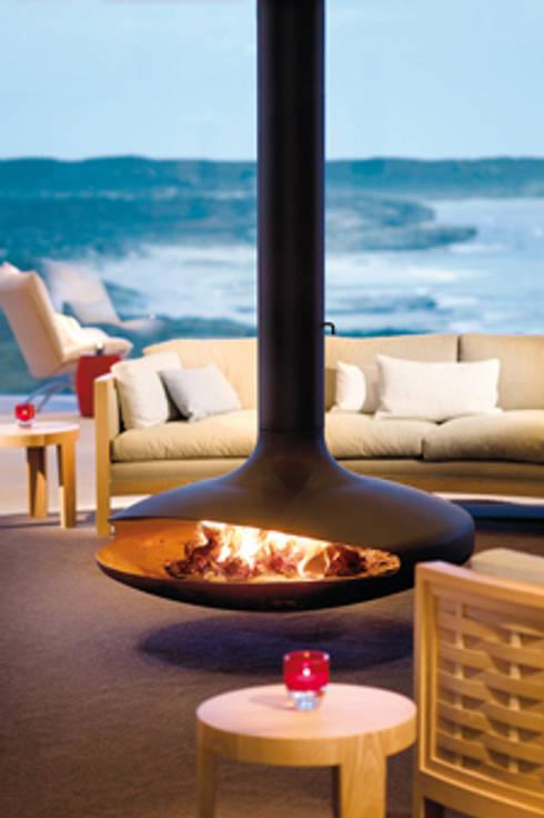 Gyrofocus Fireplace: modern Living room by Diligence International Ltd
