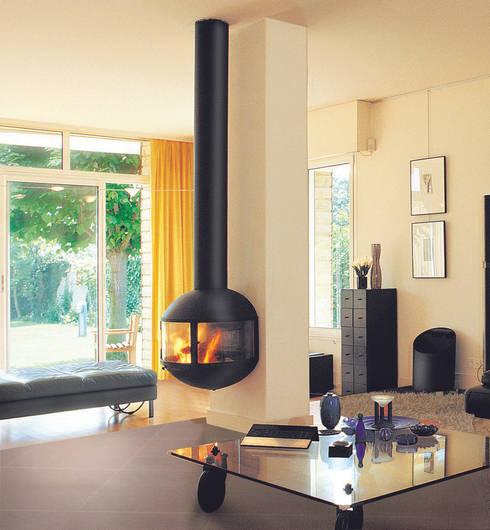Edofocus 630 Fire: modern Living room by Diligence International Ltd