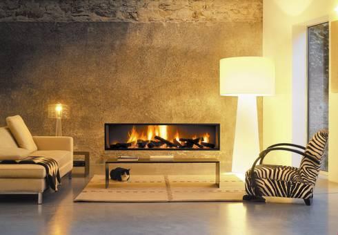 Neofocus Fire: modern Living room by Diligence International Ltd