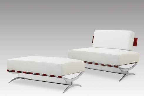 Park Lane divano: Soggiorno in stile in stile Moderno di de Milan