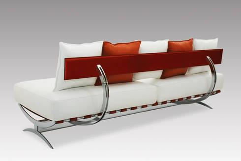 Park Lane divani: Soggiorno in stile in stile Moderno di de Milan