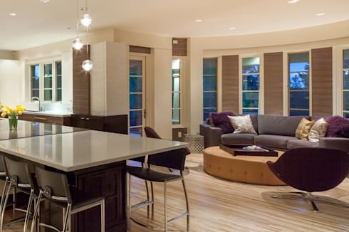 Cow Town Family Snug:  Kitchen by Bhavin Taylor Design