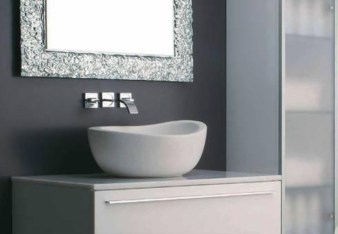 cogito: Bagno in stile in stile Moderno di Massimiliano Braconi Designer