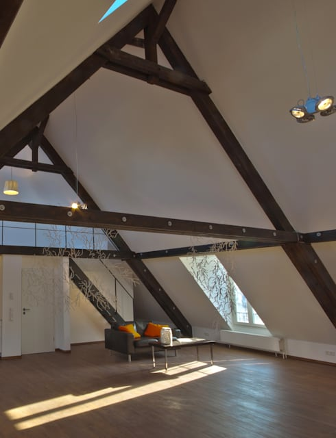 Salones de estilo moderno de Lichters Living