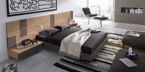 DORMITORIOS: Dormitorios de estilo moderno de Muebles Flores Torreblanca