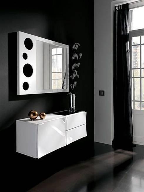 Recibidores y espejos de muebles flores torreblanca homify - Espejos recibidores modernos ...
