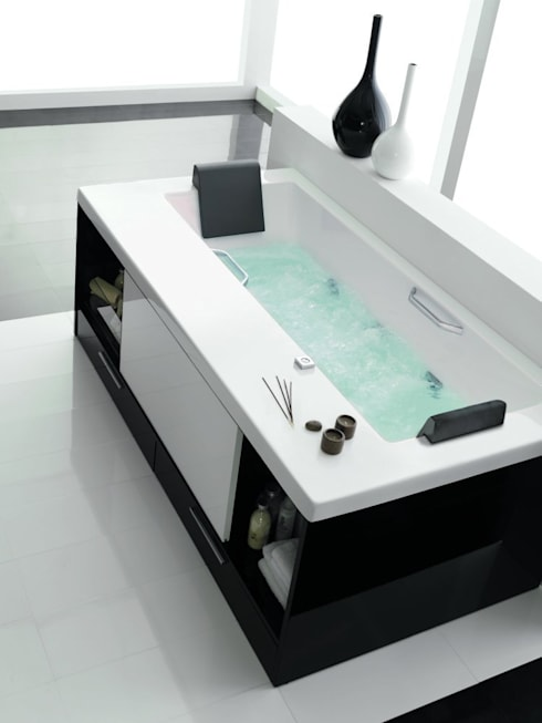 minimalistic Bathroom by Muebles Flores Torreblanca