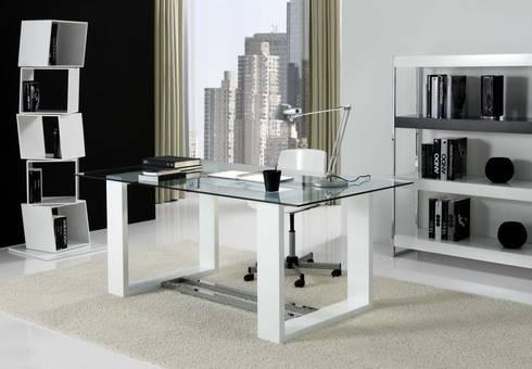 Despachos y oficinas de muebles flores torreblanca homify for Despachos y oficinas