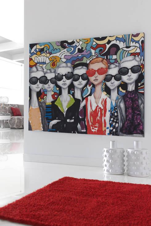 Wohnzimmer von Muebles Flores Torreblanca