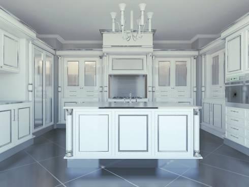 Cantù kitchen: Cucina in stile in stile Classico di elisalage