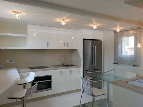 Shiny House: Cucina in stile  di ADLsolutions
