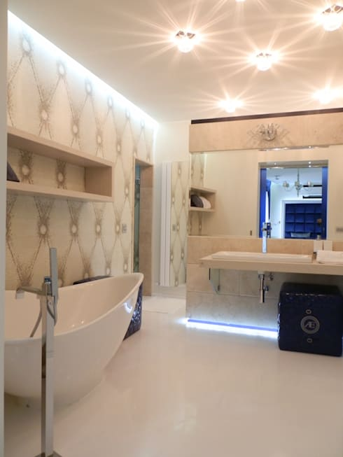 Shiny House: Bagno in stile  di ADLsolutions