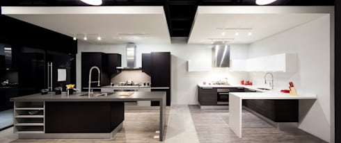 Showroom BOATO LOMAS: Cocinas de estilo moderno por Boato Cocinas