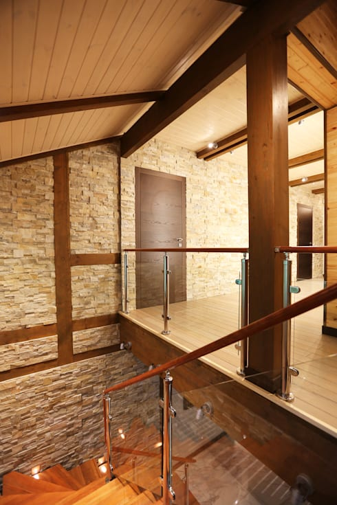 фото холл 2 этажа:  в . Автор – Forma-T studio