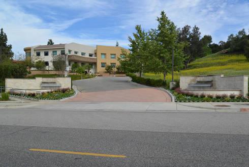 Canwood Office Project, Agoura Hills CA. 2014: Edificios de Oficinas de estilo  por Erika Winters® Design
