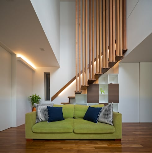 modern Living room by Architect Show co.,Ltd