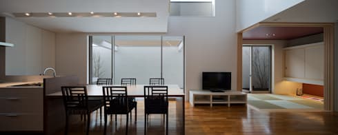 modern Dining room by Architect Show co.,Ltd