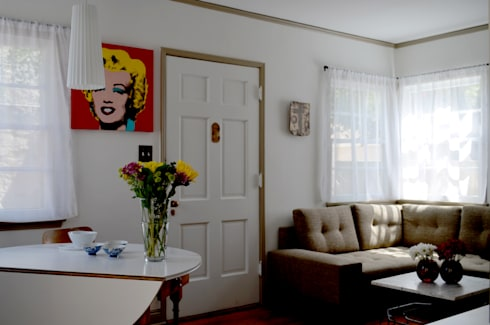 Sunnynook Decor, Los Angeles CA. 2012: Salas de estilo moderno por Erika Winters® Design