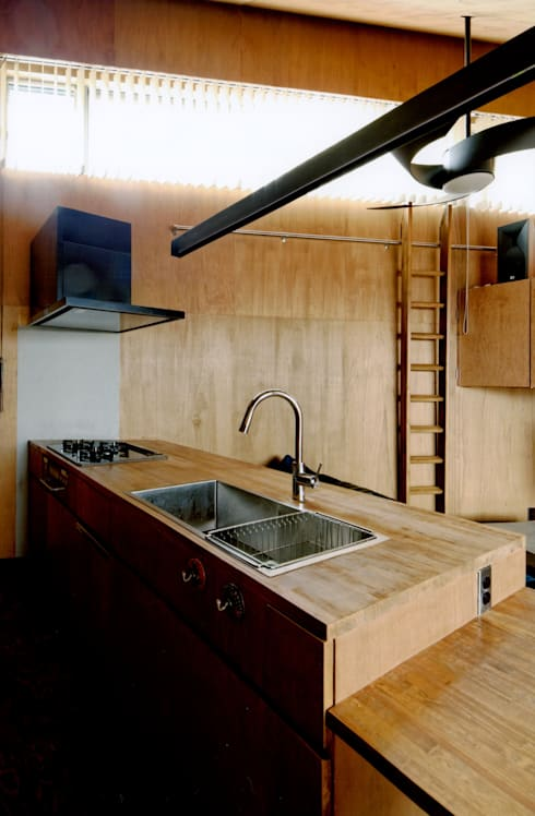 ROOF/M: eu建築設計が手掛けたキッチンです。