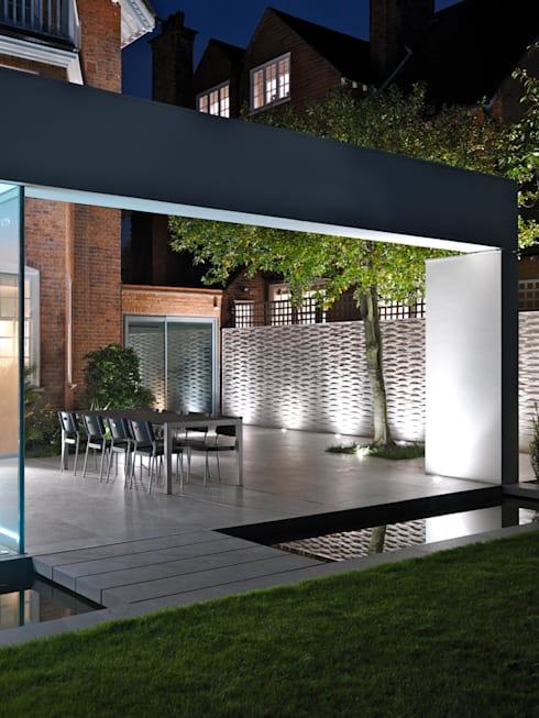 Wimbledon:  Garden by Gregory Phillips Architects
