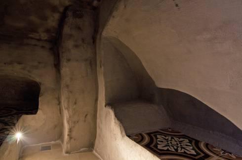 Casa AC: Spa in stile in stile Eclettico di Studio Metamor