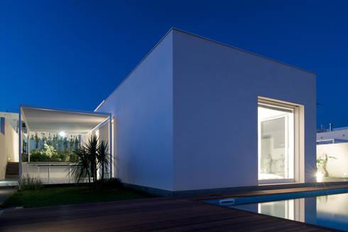 Casa ASM: Case in stile  di Arch. Nunzio Gabriele Sciveres