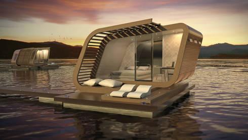 Iride 01 Floating suite:  in stile  di Torrisi & Procopio Architetti