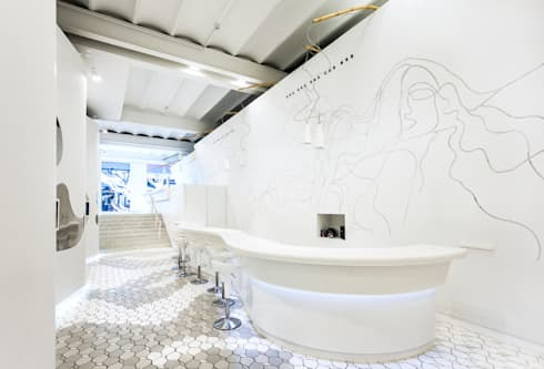Academia L'ORÉAL : Salones de estilo  de Miralles Tagliabue EMBT