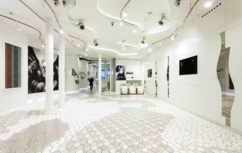 demia L'Oréal: Salones de estilo  de Miralles Tagliabue EMBT
