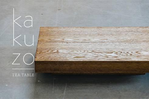 Kakuzo tea table: Soggiorno in stile in stile Eclettico di SUNDAYMORNING