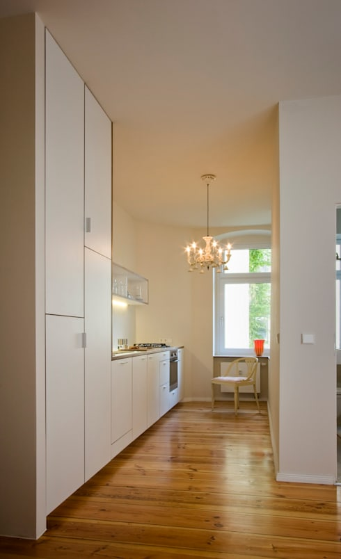 Kitchen by Nickel Architekten