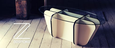 Tic Tac Table : modern Living room by Zespoke Design